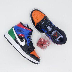 Nike Air Jordan 1 Mid 'Multi Patent'